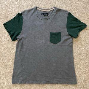 rag & bone Color Block T-shirt